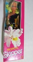 Barbie - Tropical SKIPPER Doll - 1985 Mattel - $53.45