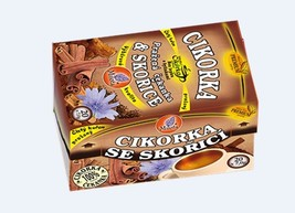Chicory Root Roasted Cinnamon 140g (20 x 7g) - Coffee Substitute Diabetic - $12.95