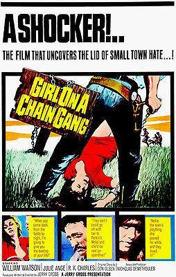 Primary image for Girl On A Chain Gang - 1965 - Movie Poster