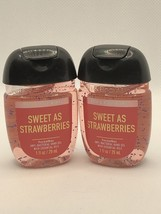 Bath and & Body Works  Pocketbac Sweet as strawberries  New!  Lot of 2. - $14.99