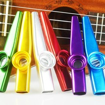 COCODE Set of 6 Colors Metal Kazoo Musical Instruments Good Companion fo... - $39.07