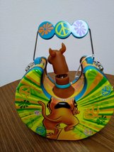 SCOOBY DOO!  Character with Spring Action Head Cartoon NetWork Tin Trinket/Lunch image 2