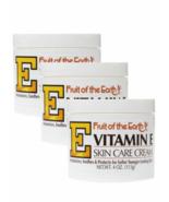 3X- Fruta de la Tierra Vitamina E Skin Care Crema ,Cuerpo Mano 4oz,Natur... - $12.85