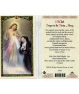 3 O'Clock Prayer Card the Divine Mercy - EB234 - O Fountain of Life You ... - $1.99