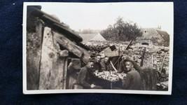 World War I American Capt. Sullivan Lt. Edward Orr Two Others in France ... - $14.00