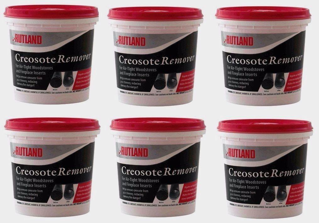 6 98 Rutland 2lb Dry Creosote Remover Chimney Treatment