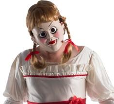 Rubies Zaubern Annabelle Erwachsene Halloween Kostüm-zubehör Maske & Per... - $28.33