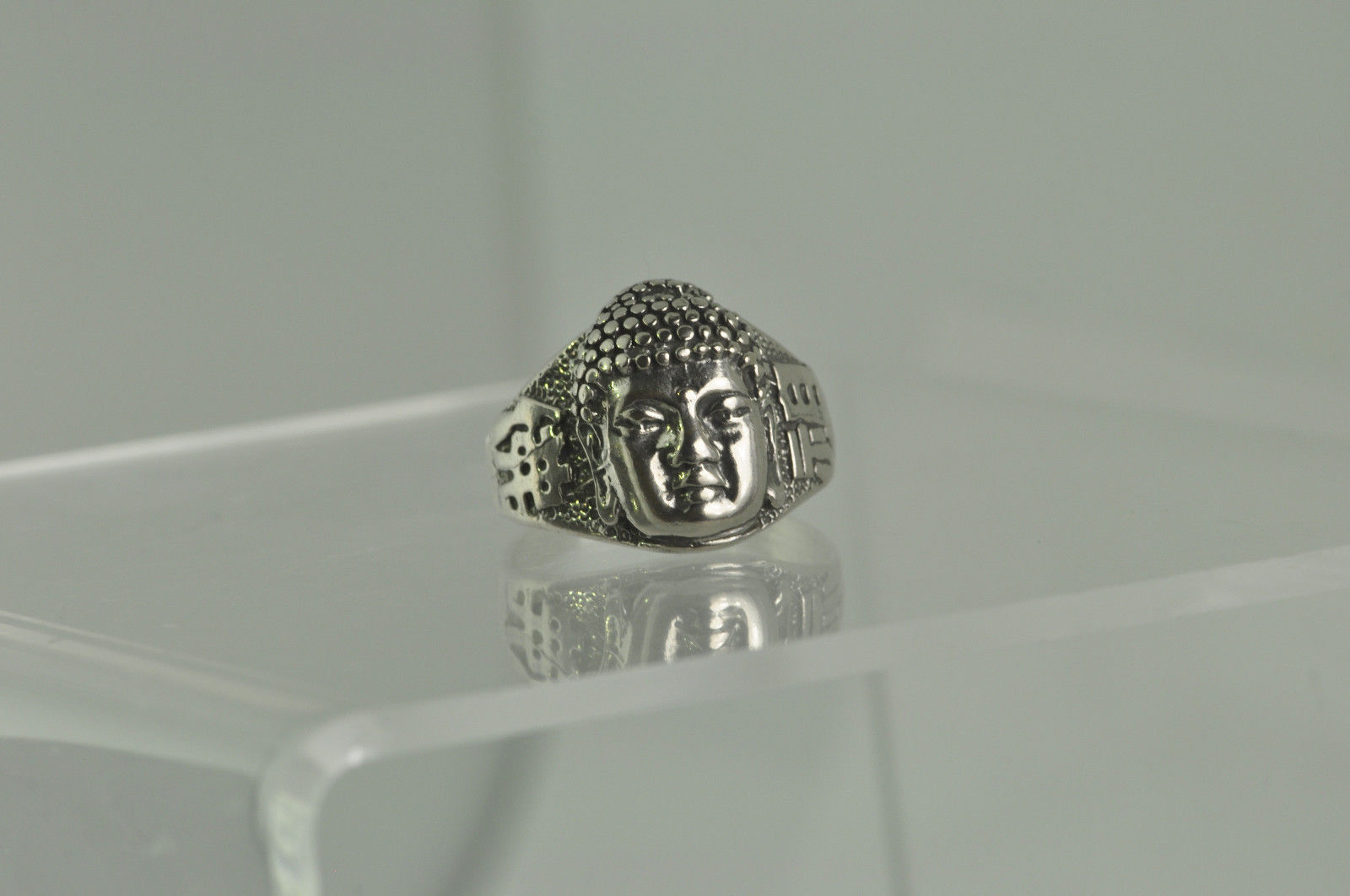 Buddha of Infinite Life Buddha Buddhism Sterling Silver 925 ring Jewelry Pick SZ