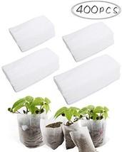 BcPowr 400 PCS 4 Size Biodegradable Non-woven Nursery Bags Plant Grow Ba... - $17.00 CAD