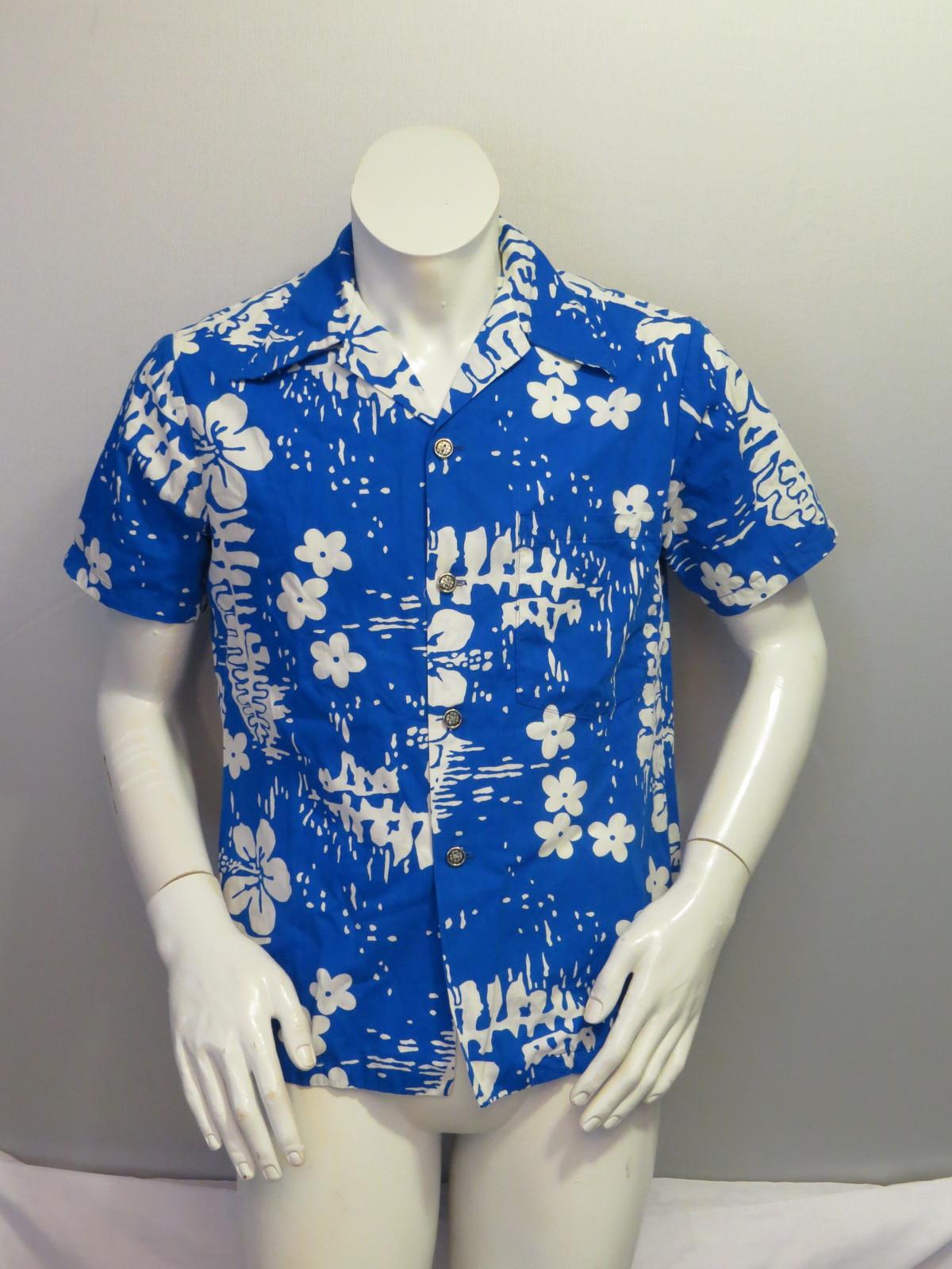 f15ea425 Img 9965. Img 9965. Previous. Vintage Hawaiian Aloha Shirt - Abstract Floral  Pattern by Ui Maikai - Mens Small