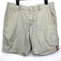 Tommy Bahama Relax Chino Shorts 5 Pocket Cotton Beige Khaki Mens 34 - $19.77
