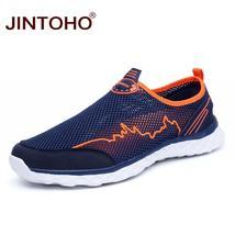 JINTOHO Casual Mesh Men Summer Breathable Shoes Size Brand Men Shoes Big Fashion rWcaqrR