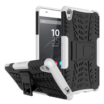 Shockproof Kickstand Protective Cover Case For Sony Xperia XA Ultra - Wh... - $4.99
