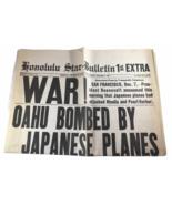 Honolulu Hawaii Star-Bulletin EXTRA December 7, 1941 WWII Pearl Harbor  - $99.00