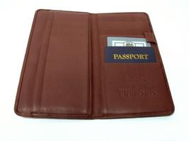 Barrington Gifts Leather Travel Organizer Id Passport Holder Wallet - FR... - $242,58 MXN