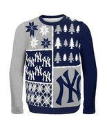 MLB Klew New York Yankees Busy Block Ugly Sweater - $34.95