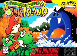 Super Mario World 2 Yoshi's Island SUPER NINTENDO SNES Video Game - $36.97