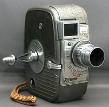 KEYSTONE Dial-Set Capri 8mm Vintage Movie Camera ELGEET f/1.8 12.5mm USA - $35.10
