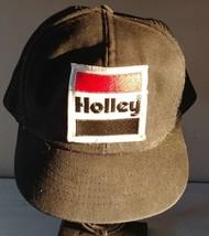 Vintage Holley Carburetor Trucker Hat Cap Snapback performance 70s swing... - $48.37