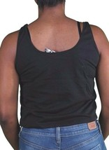 Civil Clothing Womens Black Talk That Talk Muscle Tank Top USA Made! NWT image 2