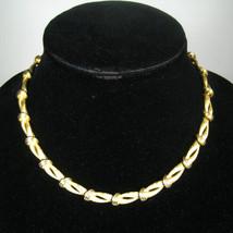 Vendome Necklace Women Goldtone 15.5 In VTG Chain Choker Signed Classic Estate - $34.64