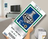 That's My Ticket 2011 NHL Stanley Cup Final Commemorative Mega Ticket Wall Decor