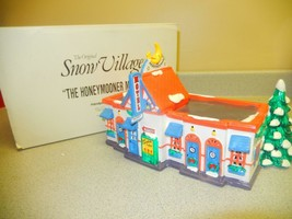 DEPARTMENT 56- RETIRED- 5401-1 THE HONEYMOONER MOTEL- NEW IN BOX - $35.00