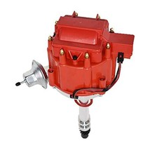 A-Team Performance HEI Distributor 65K Coil 7500 RPM Compatible with GM GMC Smal image 2