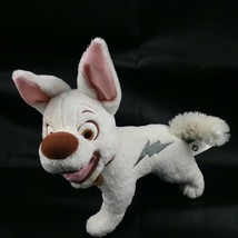 "12"" Talking Bolt Plush Stuffed Dog Disney Movie Bolt Works See Video - $101.98"