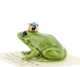 Birthstone Frog Prince September Simulated Sapphire Miniatures by Hagen-Renaker image 2
