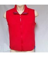 Patagonia Fleece Vest Full Zip Red VTG Jacket Mens Medium - $39.99