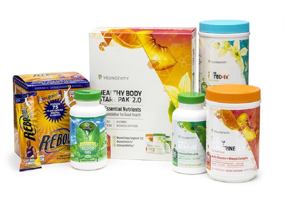Youngevity Sirius Healthy Body Athletic Pak Dr Wallach BTT 2.0 Osteo Powder Free - $188.61