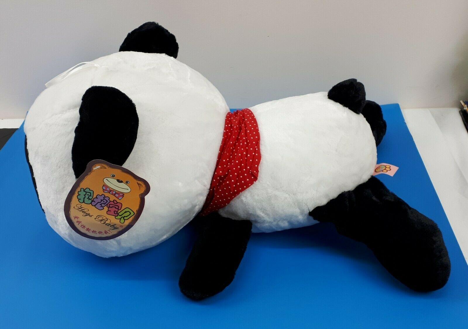 """Super Cute Smilling Panda Pillow Soft Plush Doll Kawaii Stuffed Animal 20"""" NEW image 4"""