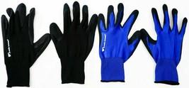 Wells Lamont 5 Confezione da Uomo Schiuma Lattice Lavoro Guanti Medio Blu E Nero image 1
