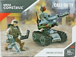 Mega Construx Call Of Duty Drone Attack Collector Construction Set 88 Pc... - $10.39