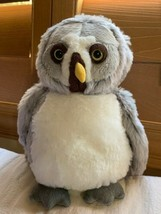"Ganz Webkinz Grey Owl Used Clean Condition Free Ship Cute 9"" - $23.38"