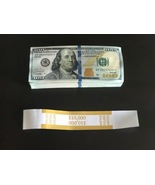 10.000 PROP MONEY USED REPLICA 100s New Style All full Print For movie V... - $25.99