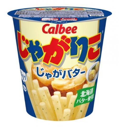 Calbee JagaRiko Potatoes butter 60g x 12pcs from Japan