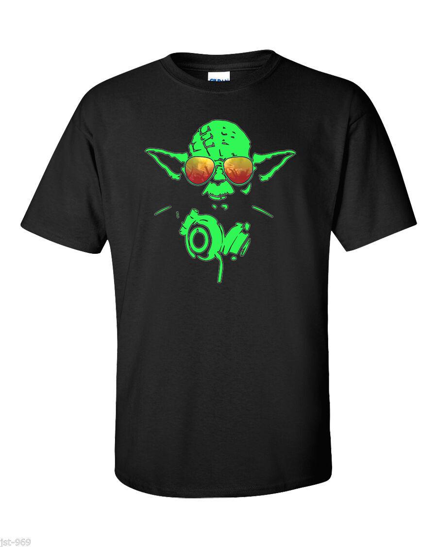 857aa326 Star Wars T-Shirt Fun Rogue 1 Club Yoda DJ and 50 similar items. S l1600
