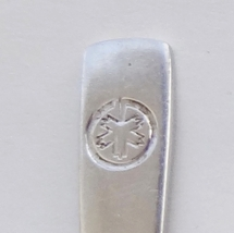 Collector Souvenir Spoon Canada Maple Leaf Emblem Oneida Stainless - $2.99