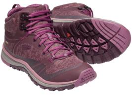 Keen Terradora Mid Sz 7 M (B) EU 37.5 Women's WP Trail Hiking Boots Pink 1019876
