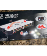 """NHL Fury Table Top Air Powered Hockey Game 38"""", Includes Two Pushers - $128.69"""
