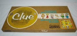 Vintage 1963 Clue Detective Game Parker Brothers Complete in Box Metal P... - £21.15 GBP
