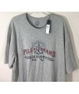 Polo Ralph Lauren Men's XLT Tall  Marine Outfitter Gray T-Shirt New - $39.99