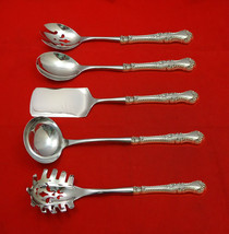 English Rose by Durgin Sterling Silver Hostess Set 5pc HHWS  Custom Made - $359.00