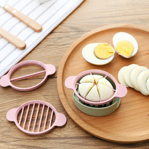 Egg Slicer Cutter Egg Cooking Tool Multifunctional Wheat Straw Mold Flow... - $15.95