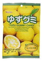 Kasugai Yuzu Gummy Candy 3.59oz (3 Pack) - $13.08
