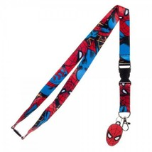 Spider-Man Spiderman Marvel Comics ID Badge Holder Keychain Lanyard - $12.00