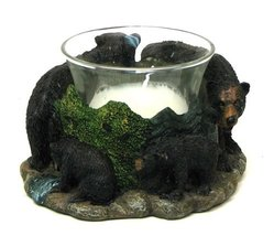 Four Bear Votive Holder - $28.00