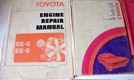 Lot of 4 Toyota Books Factory Corona Mark II Engine Repair 2M 4M 1972 - $45.49